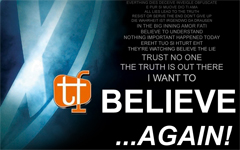 BELIEVE AGAIN