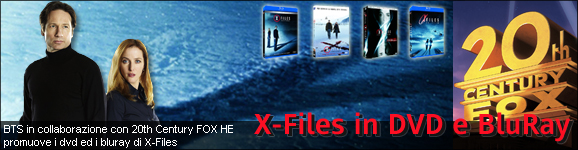 X-Files in DVD e BluRay