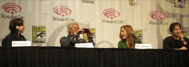 WonderCon 2008 - Frank Spotnitz, Chris Carter, Gillian Anderson, David Duchovny