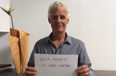 Chris Carter su Reddit