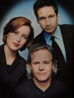 Gillian Anderson, David Duchovny e Chris Carter