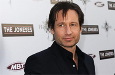 David Duchovny alla premiere del film The Joneses
