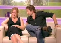 David Duchovny e Gillian Anderson al 'Richard &amp; Judy'