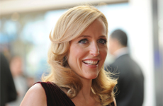 "Gillian Anderson alla premiere di ""Johnny English Reborn"""