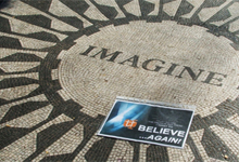 BELIEVE AGAIN - John Lennon Memorial, NYC