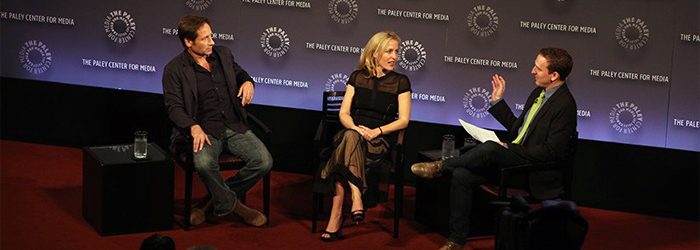 David Duchovny e Gillian Anderson al Paley Center