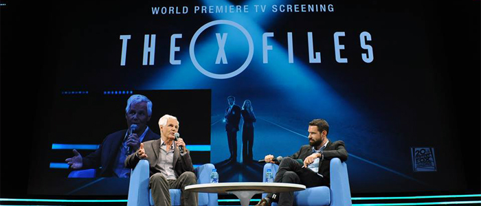 Chris Carter al MIPCOM per la presentazione di X-Files
