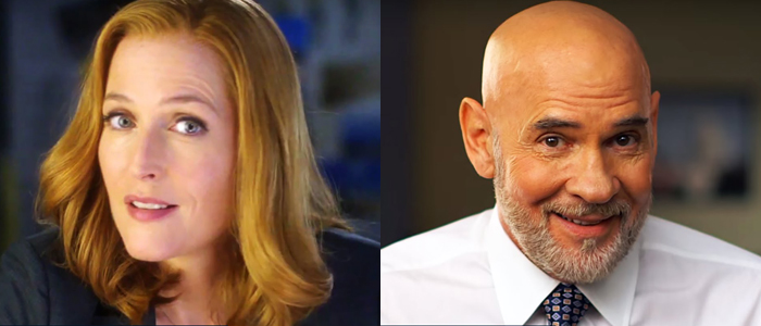 Gillian Anderson e Mitch Pileggi - X-Files Show and not tell