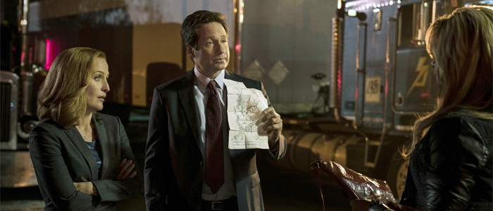 Mulder e Scully in una scena dell'episodio di Darin Morgan
