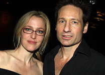 "Gillian Anderson e David Duchovny alla premiere di ""The Break of Noon"""