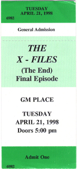 The X-Files (The End) Final Episode