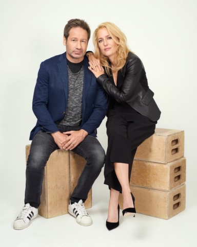 X-Files Vulture Photoshoot NYCC2017 #1