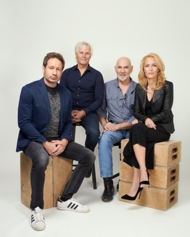 X-Files Vulture Photoshoot NYCC2017 #2