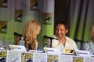 David Duchovny e Gillian Anderson al SDCC #11, da The X-Files 20th Anniversary Panel - SDCC 2013