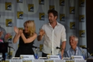 Applausi ad inizio panel, da The X-Files 20th Anniversary Panel - SDCC 2013