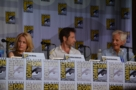 Duchovny, Anderson e Chris Carter al SDCC #4, da The X-Files 20th Anniversary Panel - SDCC 2013