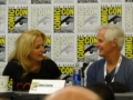 Chris Carter e Gillian Anderson al panel della IDW