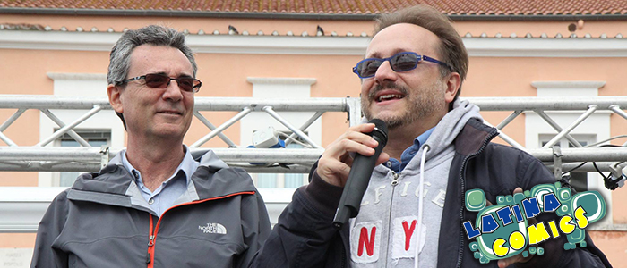 Gianni Bersanetti e Alessio Cigliano a Latina Comics 2016