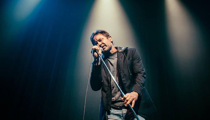 David Duchovny sul palco