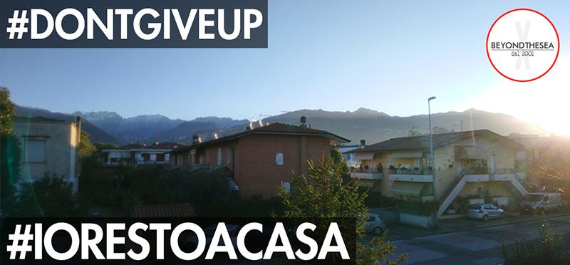 #iorestoacasa - Giorno 2 - Una giornata bellissima