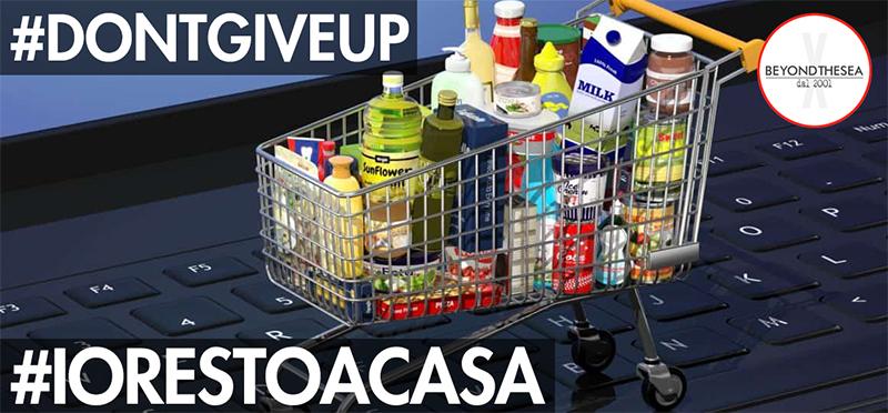#iorestoacasa - Giorno 5 - I miei genitori e la spesa online
