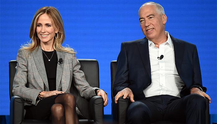 Dana Walden e Gary Newman ai TCA 2018