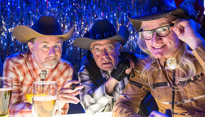I Lone Gunmen nell'ultima apparizione nella serie