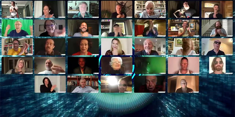 Il cast di X-Files canta la sigla della serie