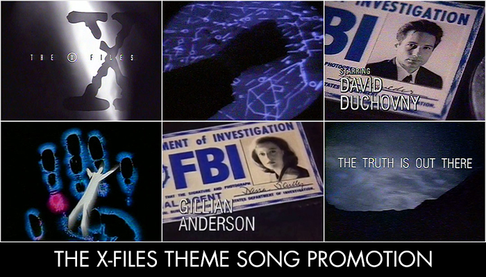 The X-Files Theme Song Promotion