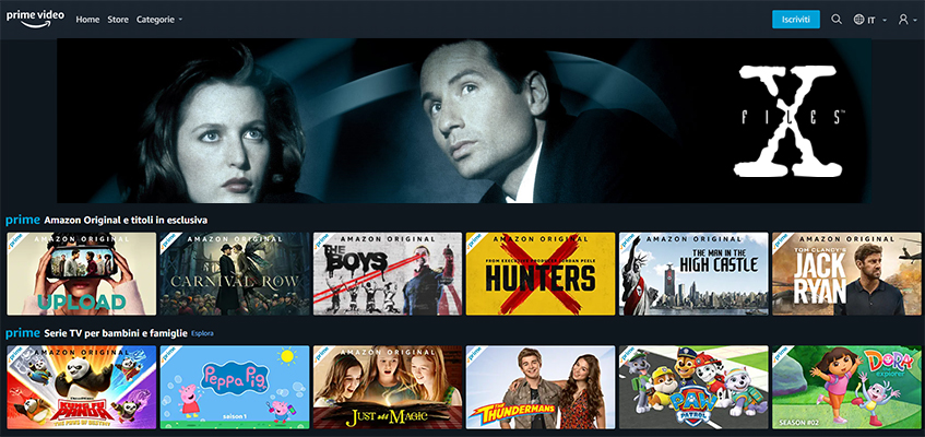 Le prime 10 stagioni di X-Files in arrivo su Amazon Prime Video