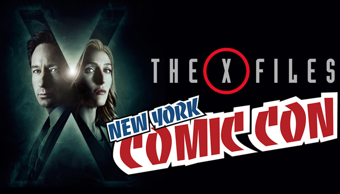 X-Files al New York Comic Con 2017