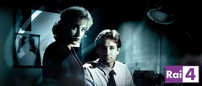 X-Files su Rai 4