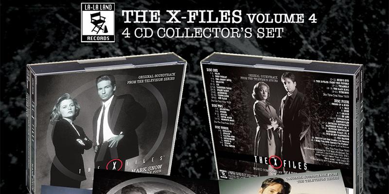In arrivo il quarto cofanetto con le musiche tratte da X-Files