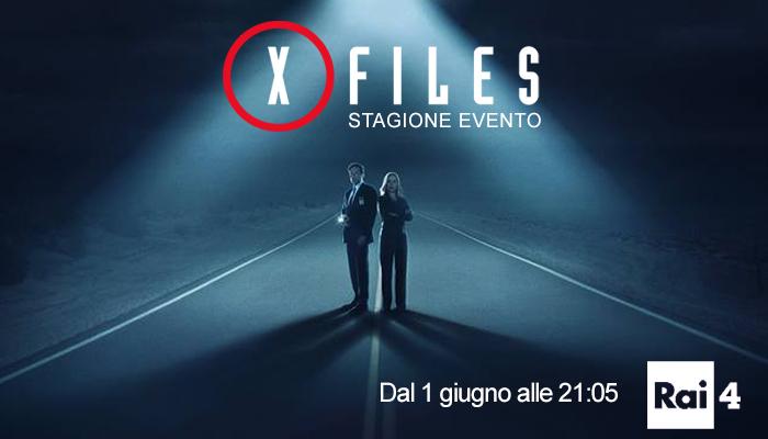 X-Files su Rai4