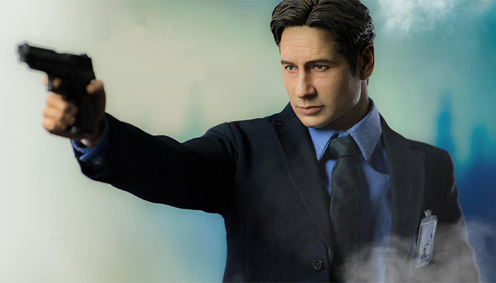 La action figure di Mulder