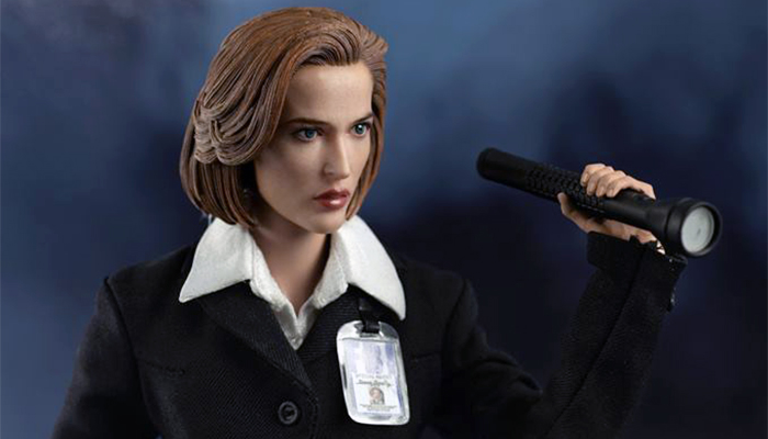 In pre-ordine la nuova action figure di Scully da ThreeZero