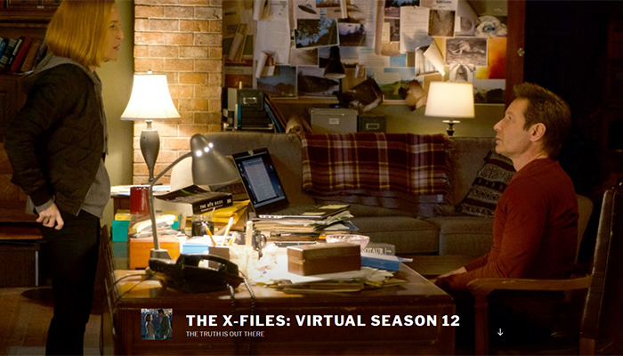 La dodicesima stagione 'virtuale' di X-Files
