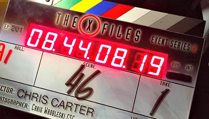 X-Files 11 - Foto dal set