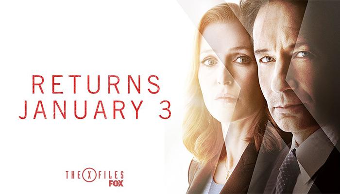 X-Files 11 - A Gennaio in tv