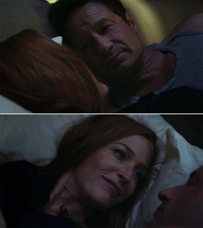 Mulder e Scully come non li abbiamo mai visti