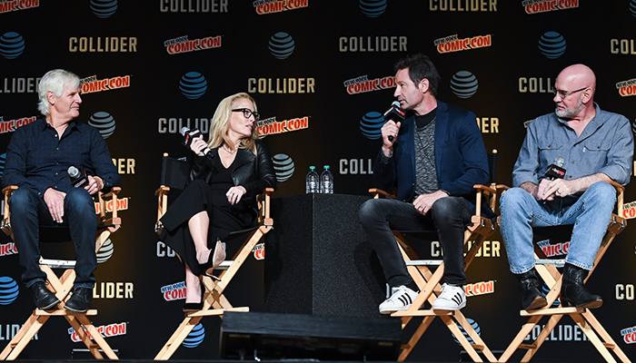 Il panel di X-Files al New York Comic Con