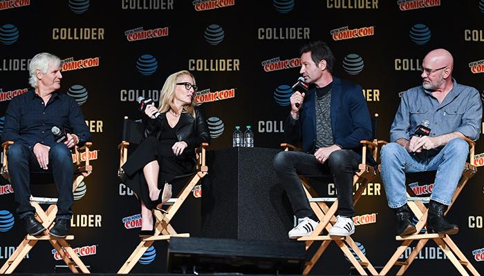 Il panel di X-Files al New York Comic Con