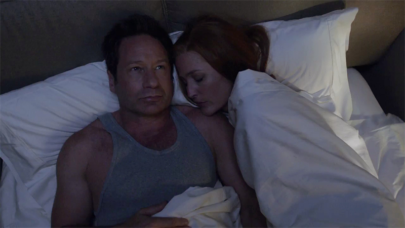 X-Files - Mulder e Scully in un frame nascosto