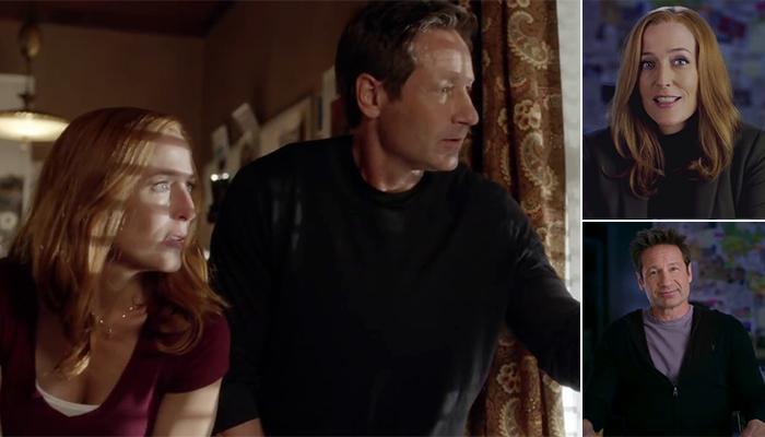 David Duchovny e Gillian Anderson parlano di Mulder e Scully