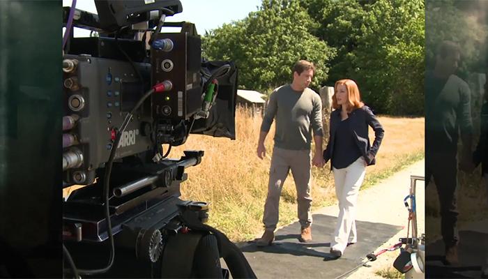 David Duchovny e Gillian Anderson protagonisti di un nuovo video promozionale
