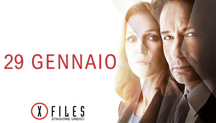 La nuova stagione di X-Files arriva in Italia a partire dal 29 Gennaio