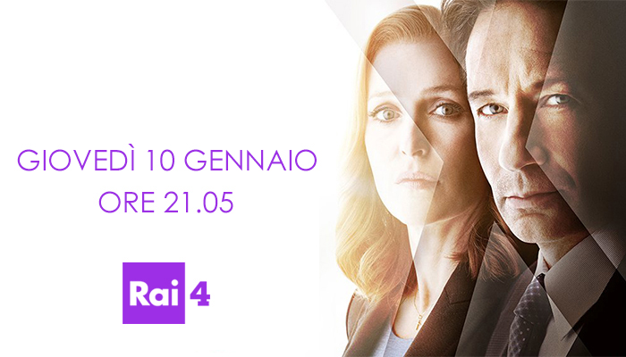 L'undicesima stagione di X-Files in onda su Rai 4