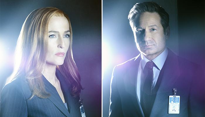 X-Files 11 - Le foto del cast